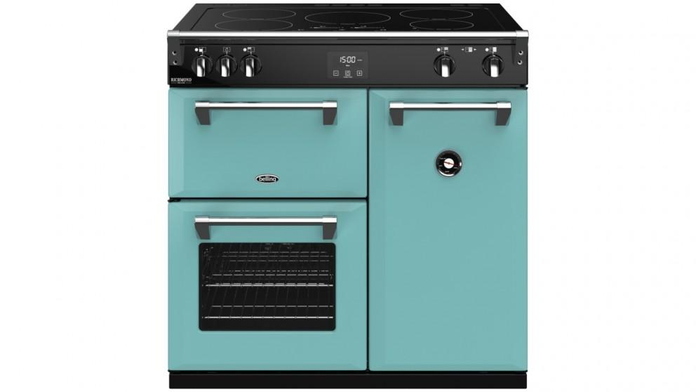 Belling 900mm Colour Boutique Richmond Deluxe Induction Range Cooker – Country Blue
