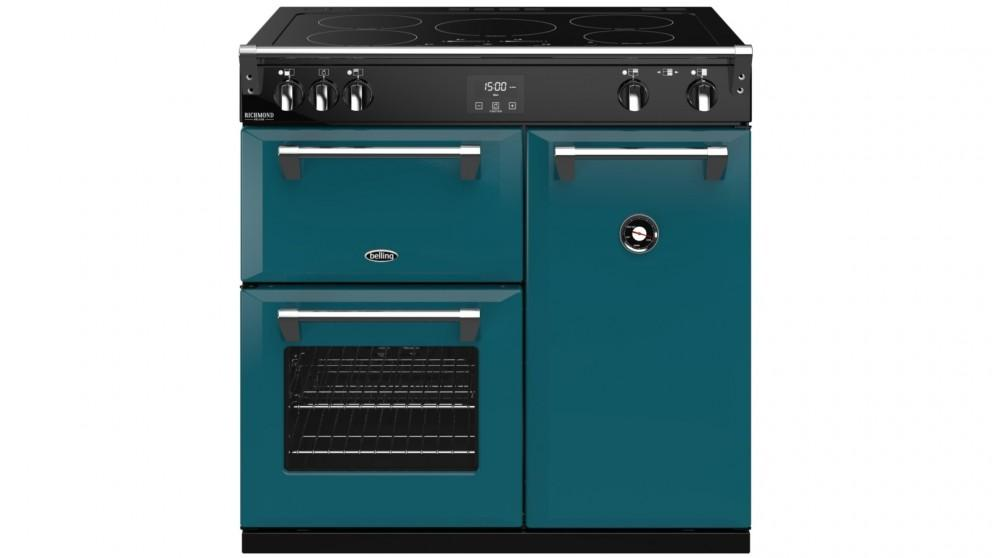 Belling 900mm Colour Boutique Richmond Deluxe Induction Range Cooker – King Fisher Teal
