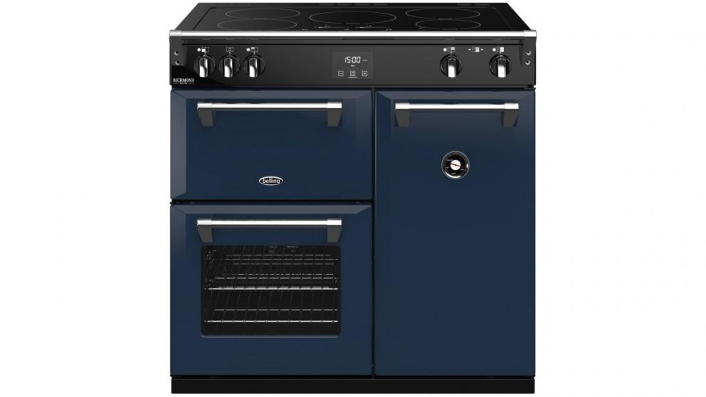 Belling 900mm Colour Boutique Richmond Deluxe Induction Range Cooker – Midnight Blue