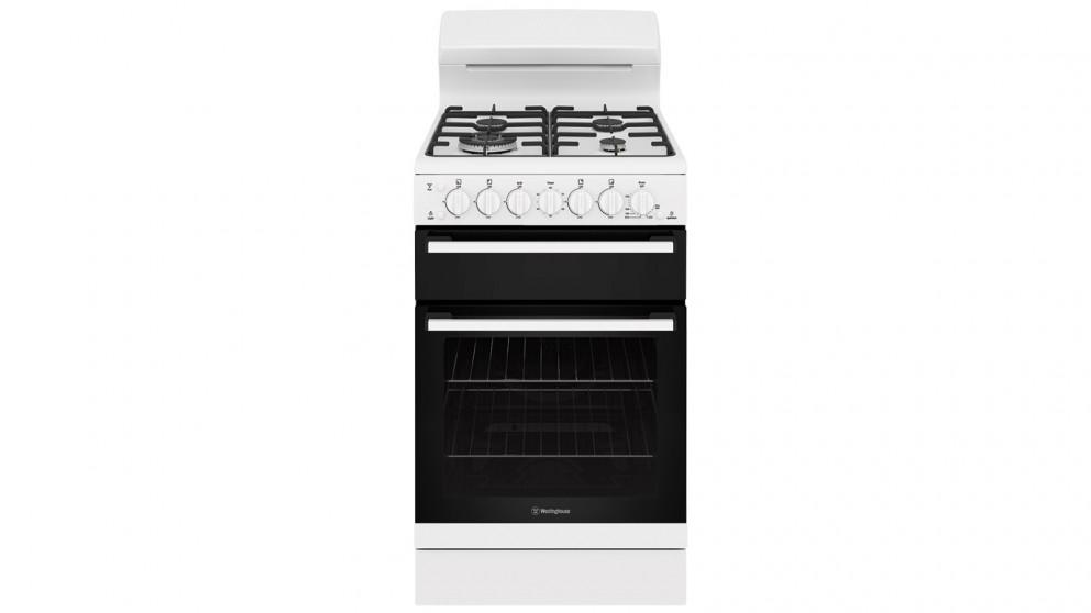 Westinghouse 54cm Freestanding Cooker with Gas Hob – White