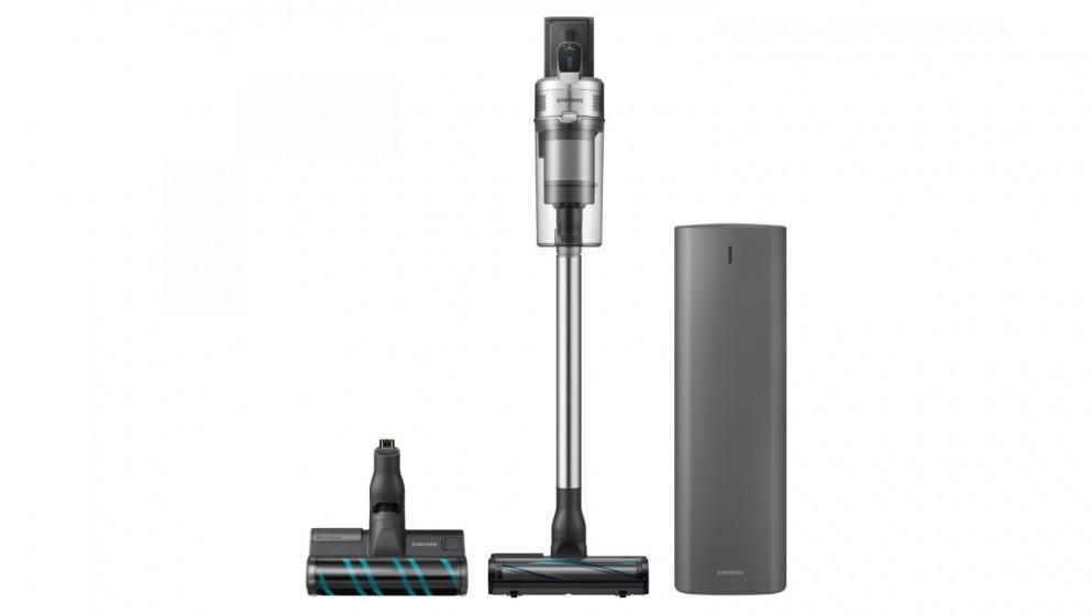 Samsung Jet VS90 Complete Stick Vacuum with Soft Action Brush &  Jet Clean Station (Warm Silver)