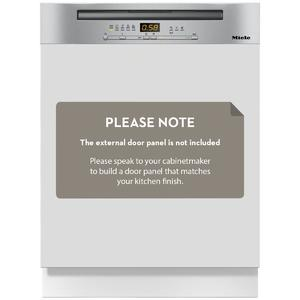 Miele Gen 5000 Semi-Integrated Dishwasher G5210SCICLST