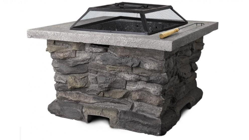 Grillz Outdoor Fire Pit Table