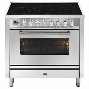 ILVE Professional Plus 90cm Freestanding Electric Oven/Stove PI09WE3SS