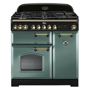 Falcon 90cm Classic Deluxe Freestanding Dual Fuel Oven/Stove CDL90DFMGBR