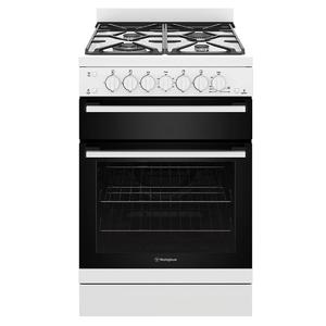 Westinghouse 60cm Freestanding Natural Gas Oven/Stove WFG612WCNG