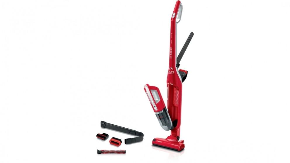 Bosch Flexxo ProAnimal 2-in-1 Rechargeable Vacuum Cleaner – Red
