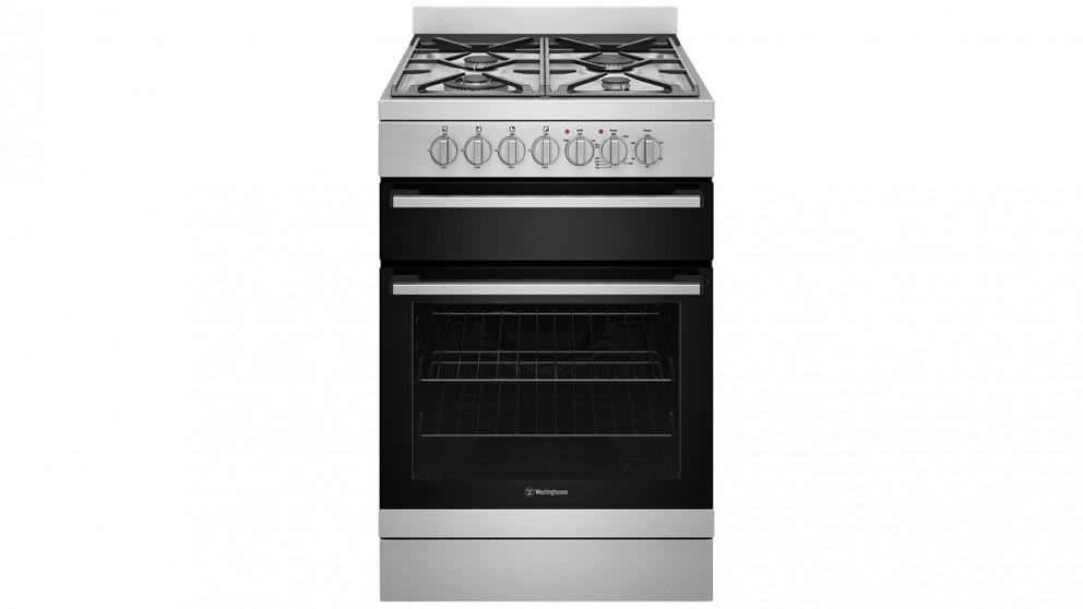 Westinghouse 600mm Dual Fuel Freestanding cooker with Separate Grill – Stainless Steel
