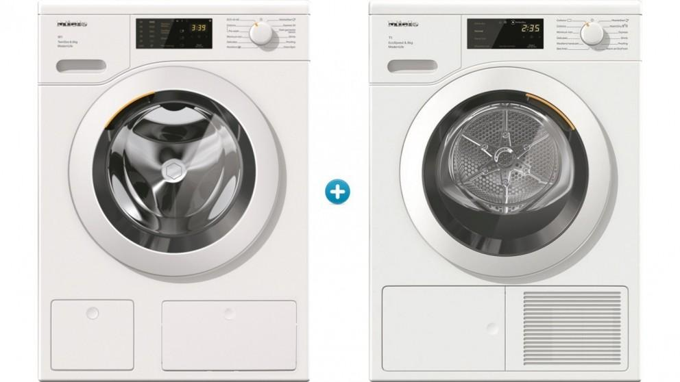 Miele 8kg WCD 660 Front Load Washing Machine plus 8kg TCD 660 WP Heat Pump Dryer Package