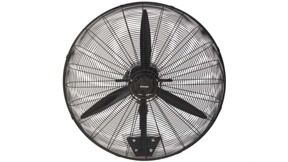 Dimplex 75cm High Velocity Wall Fan with Remote – Matte Black