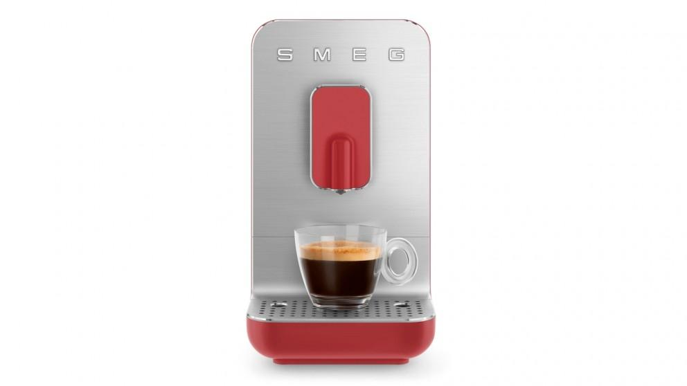 Smeg Bean to Cup Automatic Coffee Machine – Red Matte